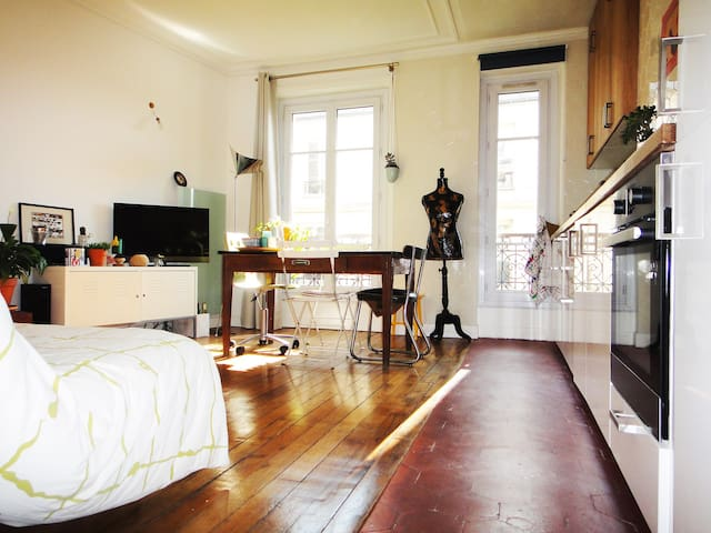 lovely typically Parisian apartment