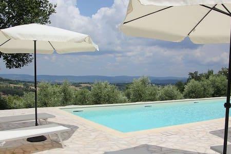 Il Poggio with a great view - Appartement
