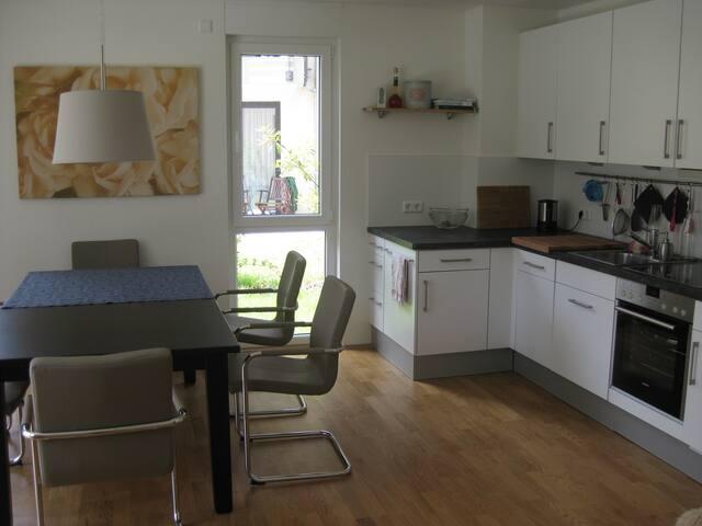 Schöne 2 ZKB mit Terasse - Magonza - Appartamento