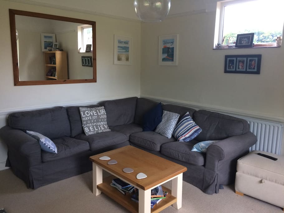 Comfy lounge with TV, DVD & Log Burner- a full selection of family DVD's and Family Board games to enjoy