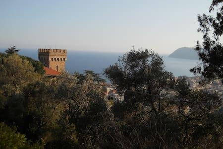 ALASSIO- SPLENDIDA VILLA IN COLLINA - Alassio