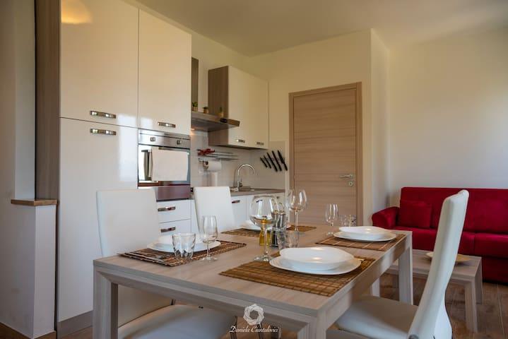 Nuovo appartamento vista lago
