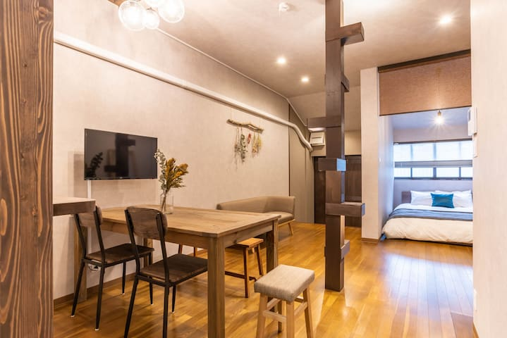 Designer house/5 mins to Namba/BijouSuites Century