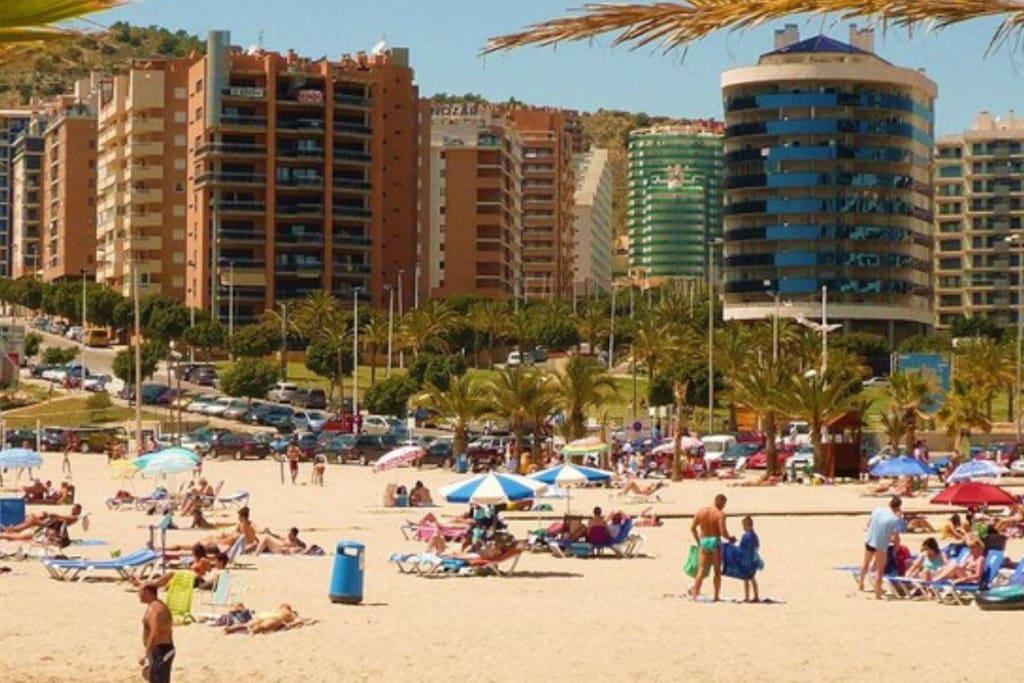 Пляж La Cala Fitestrat