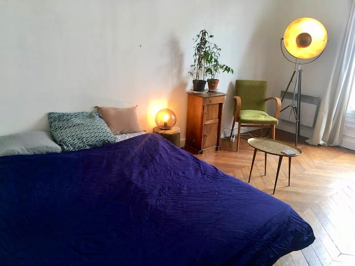 Chambre privée, bel appartement proche Montmartre