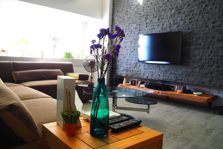 modern design with great city view - Lingya District - Appartement