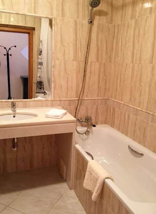 Bathroom- bathtub