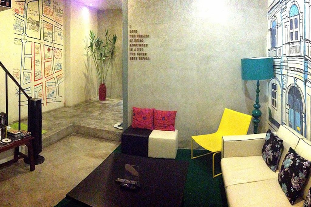 Common Area with DVD player