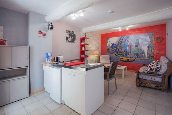 35m² F2 apartment with patio - Elne - Apartamento