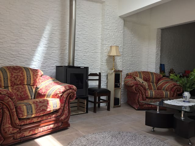 One-room house in Malvín Norte. Free Wi-Fi.