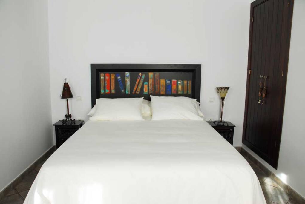 Habitación independiente con cama doble