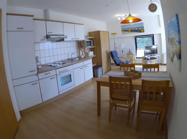 Lichtdurchflutet und kuschelig für Zwei - Friedrichskoog - Apartment
