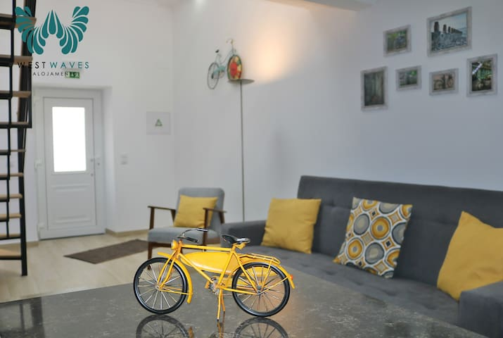 Townhouse at center city - Casa das Bicicletas