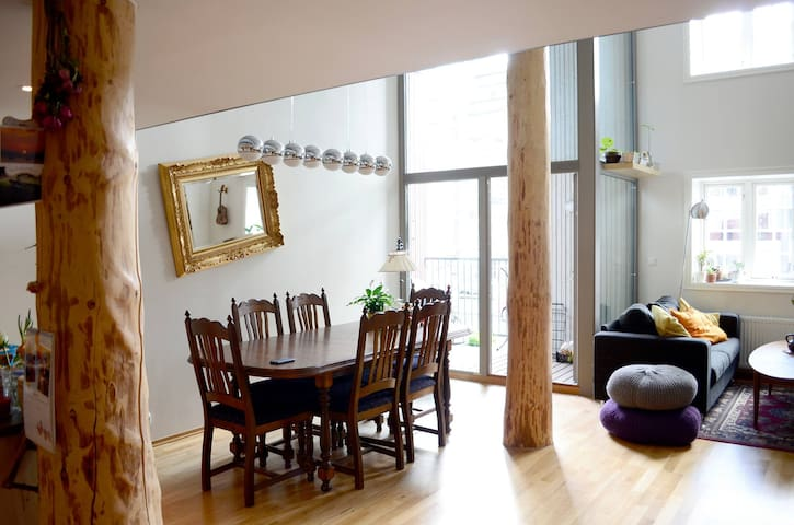 Excellent 89m2 flat in city center!