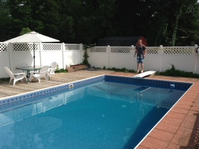 B&B W. Inground Pool & BBQ Access 2 - Newburgh - House