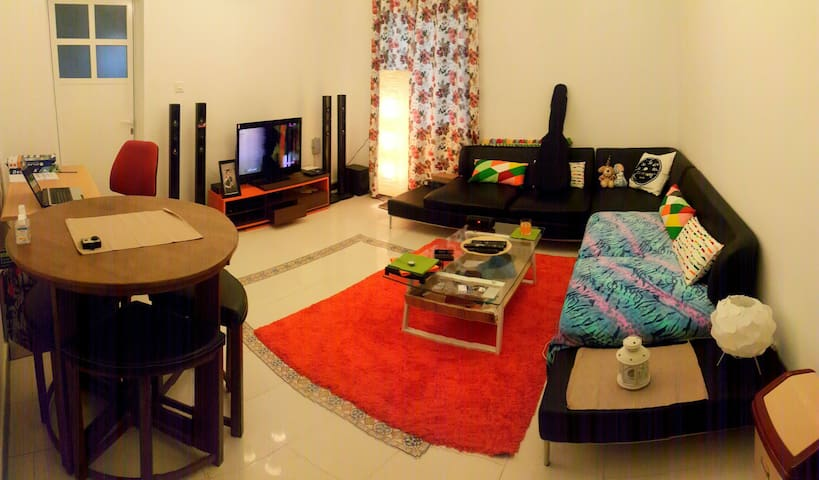 Private bedroom with own bathroom - Muscat - Apartment