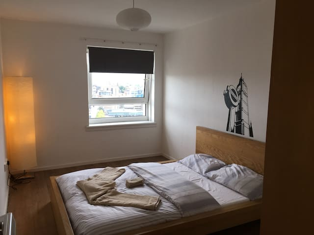 Fancy view double room in the heart of glasgow