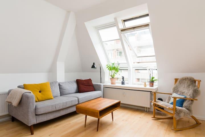 Nørrebro Apartment in a Hip Area - Kopenhag - Daire