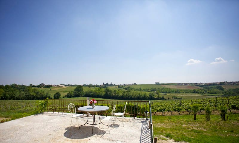 Rental with pool near Bordeaux  - Langoiran - Dom