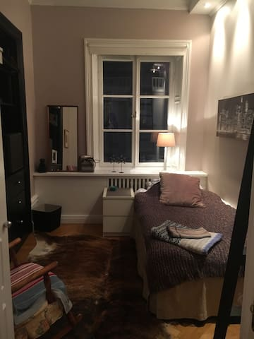 Cosy and homey  in the heart of Östermalm