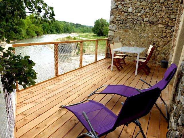 Gite de la rivière Drôme provençale