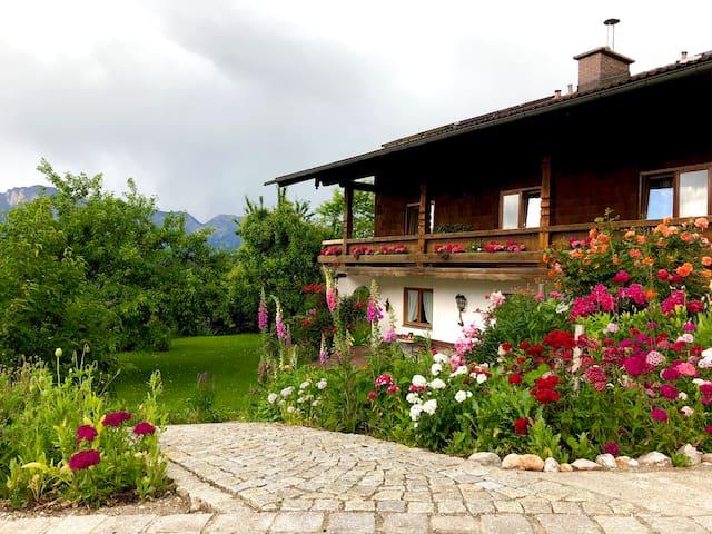 Ferienwohnung Fritzenlehen mit Balkon u. Bergblick