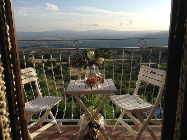 Casetta romantica  con vista panoramica