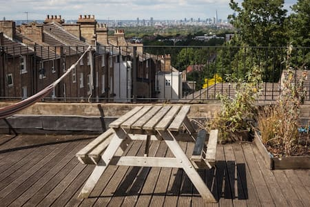 Two Bed Flat with Roof Terrace - Londres - Apartamento