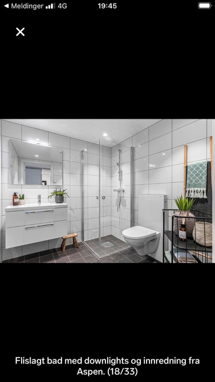 Ny fresh leilighet midt i Lillestrøm leies ut