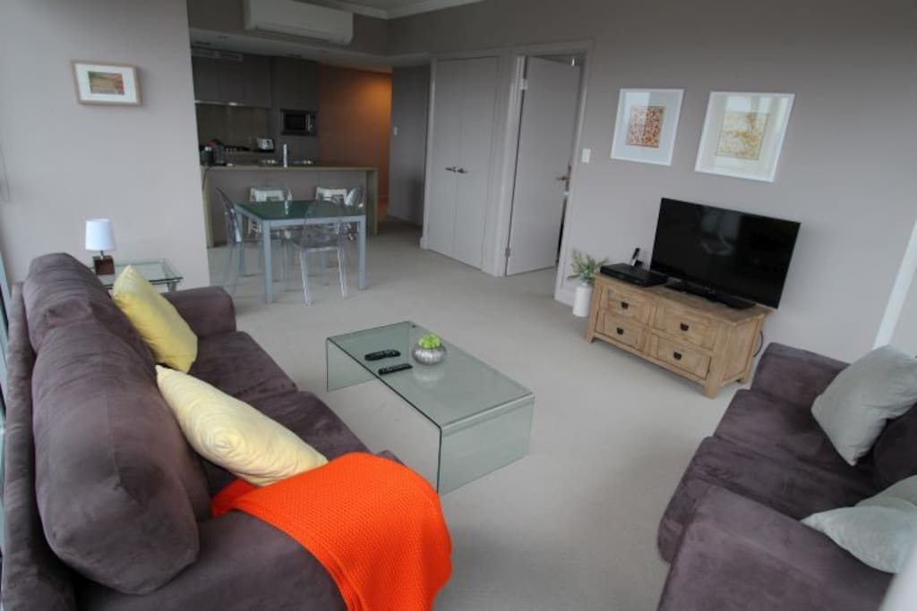 Lounge Room with Tv and Foxtel