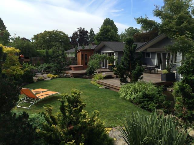 Homey, mid-century modern oasis