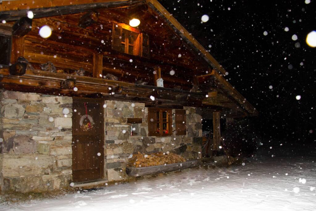 Calda ed accogliente anche d'inverno