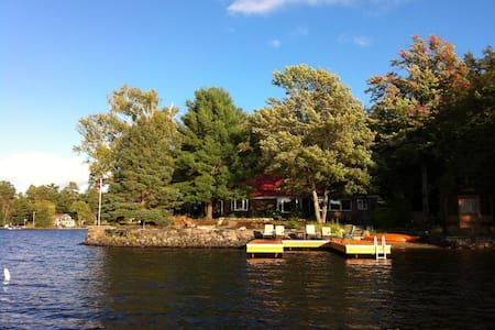 Spectacular Muskoka Waterfront Cottage