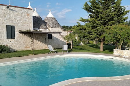 Villa Giulia B&B relax and pool - Castellana Grotte - 家庭式旅館