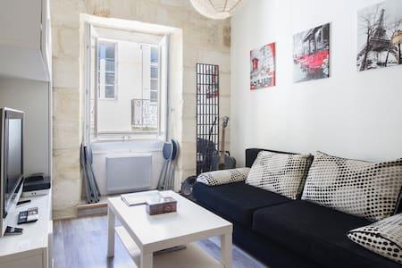 Joli studio confortable Bx centre  - Bordeaux - Apartment