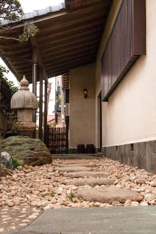 Transitional Japanese house