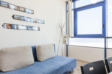 1BD Suite w Sea View & free parking - Ashdod
