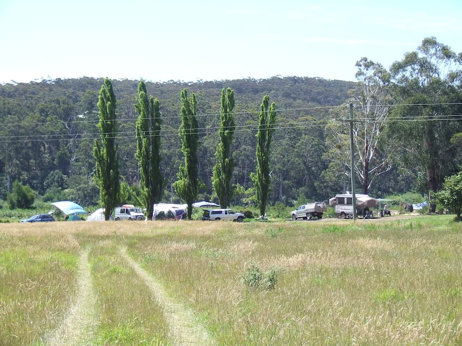 many acres to explore or try camping ore caravaning at the riverside great fishing