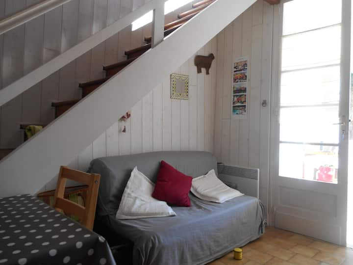 small terraced house