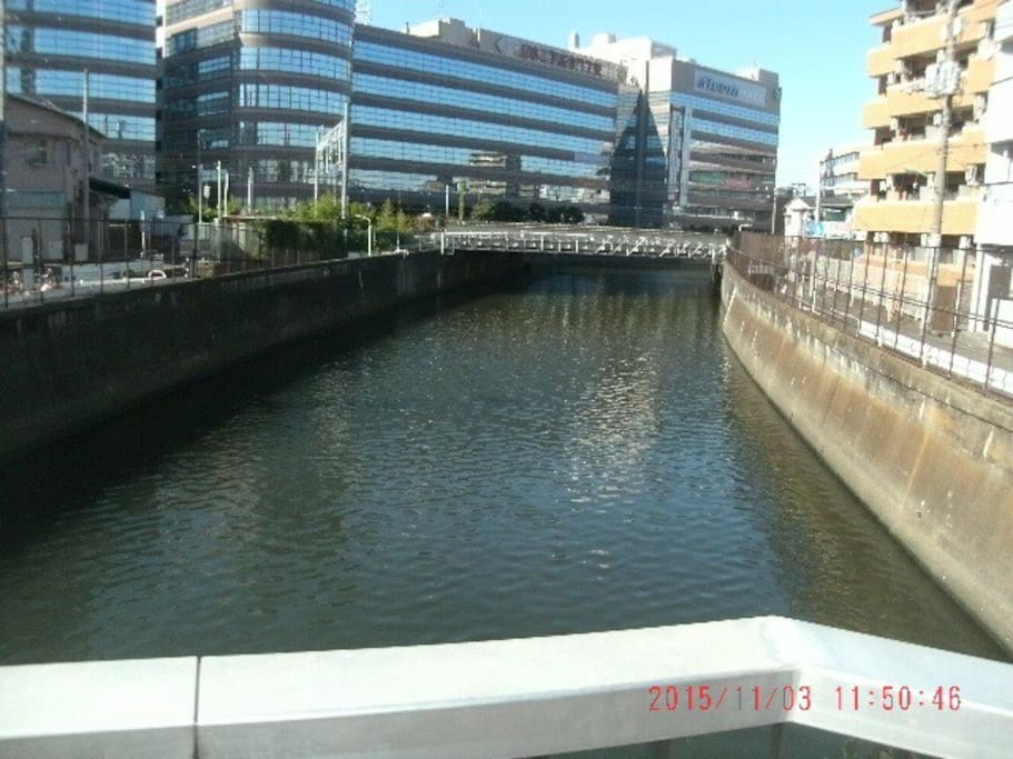 view of the Nomikawa River