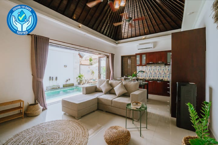 Sanur House w/ Pool & Netflix | Long Stay Discount