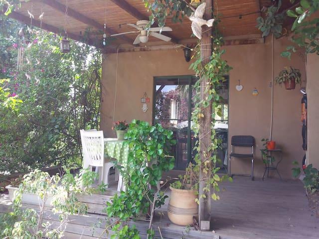 Pastoral house + veranda & garden - Ben Shemen - House