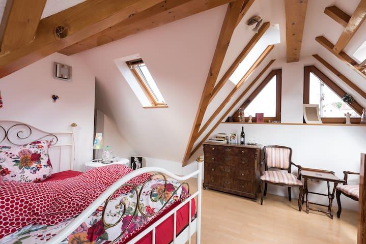 Galerie/Maisonette im Sandsteinhaus