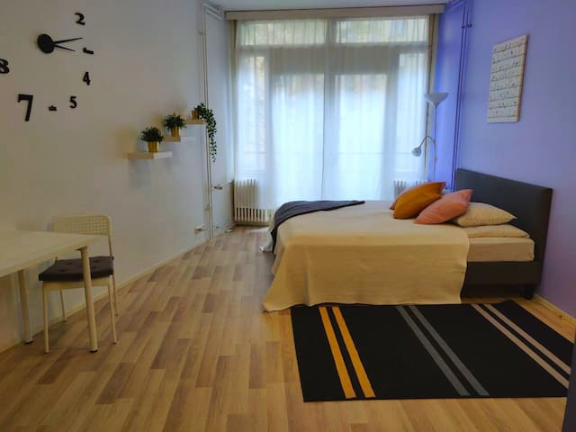 Stylish 30m2 Studio 400m to H-ki central station
