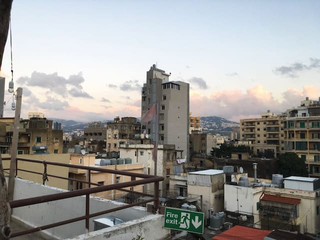 An apartment in the heart of Beirut