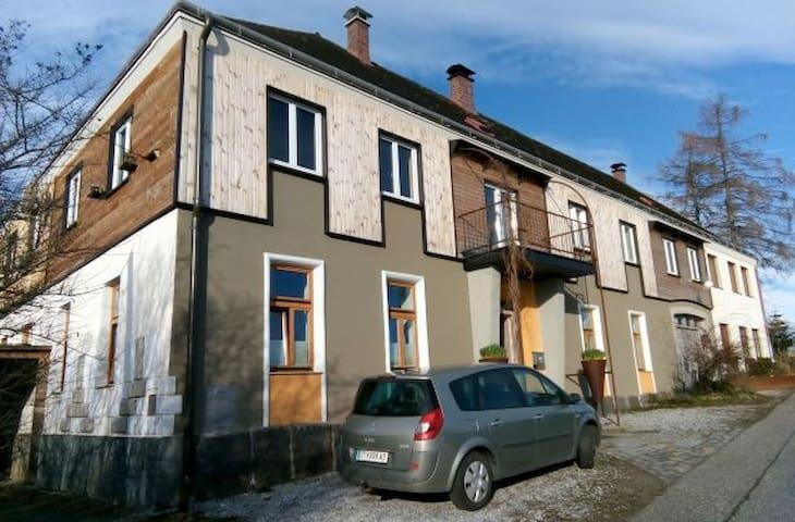 Grafenschlag 20, Grüngelbe Wohnung für 4 - 7 Pers.