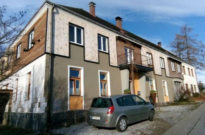 Grafenschlag 20, Grüngelbe Wohnung für 4 - 5 Pers.