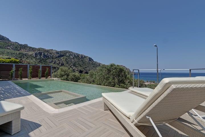 Sfinari villa, west of Chania Crete