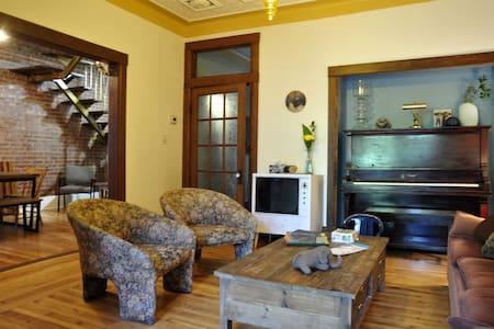 DOUBLEROOM Piano&Garden&KING SIZE BED! - 蒙特利尔 - 公寓