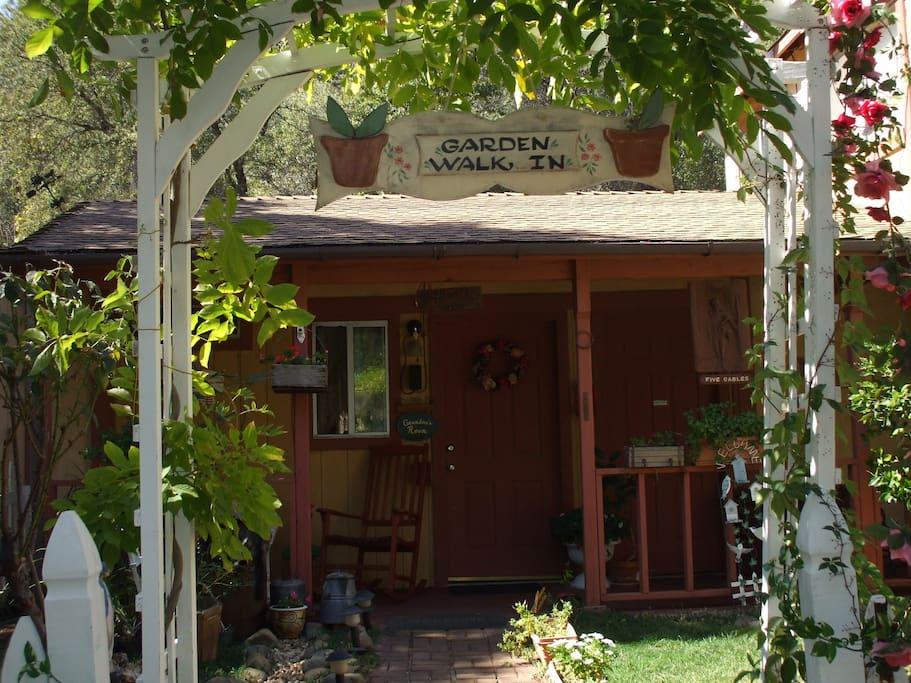 Grandma's Room entrance and porch